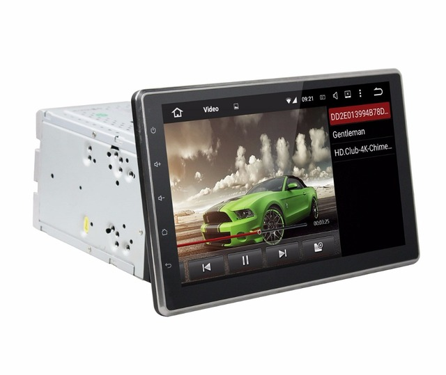 Octa Core 2 Din 10 1 Universal Android 6 0 Car Radio Dvd Player