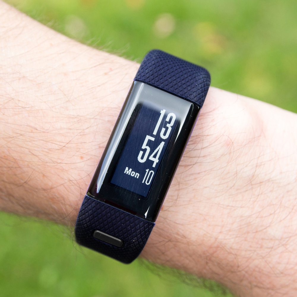 Sports Silicone Watch Strap For Garmin Vivosmart HR Fashion Watch Band Wrist Strap Bracelet For Garmin Vivosmart HR Watchbands in Watchbands from Watches