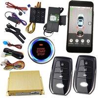 Сотовый телефон smart app keyless Центральный замок для Авто Дистанционное включение выключение двигателя коды доступа emergeny разблокировки двери а