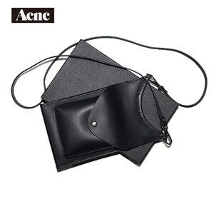 Мини-сумка Acnc legend из натуральной кожи, женская сумка на плечо из натуральной кожи, кожаная сумка для телефона, бесплатная доставка