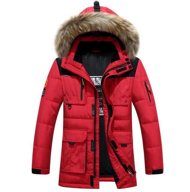 Hohe Qualität 2018 Marke Kleidung Männer Unten Jacke Winter parka männer  warmen dicken mantel viishow eis abf0c756bb