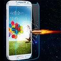 2 unids 9 h vidrio templado film protector de pantalla para samsung galaxy S4 I9500 I959 I9508 I9502 + Paño + Polvo de Alcohol absorbedor