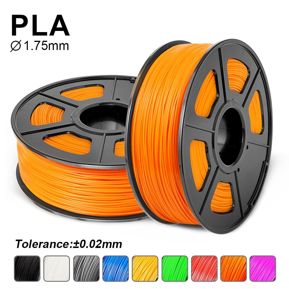SUNLU PLA /PLA + Filament 1.75mm 1KG For 3D Printer Vacumm Packing PLA/PLA Plus Filament By Certificate 3D Printing Consumable