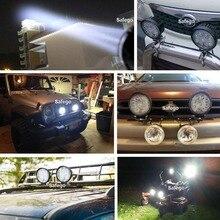 Safego 2x 27W led work light offroad lamp 12V LED tractor work lights bar spot Flood off road ATV 4X4 accessories car truck 24V