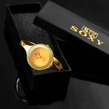 SOXY Fashion Gold Watch Luxury Crystal Bracelet Watch Women Watches Top Brand Ladies Watch Clock zegarek damski relogio feminino