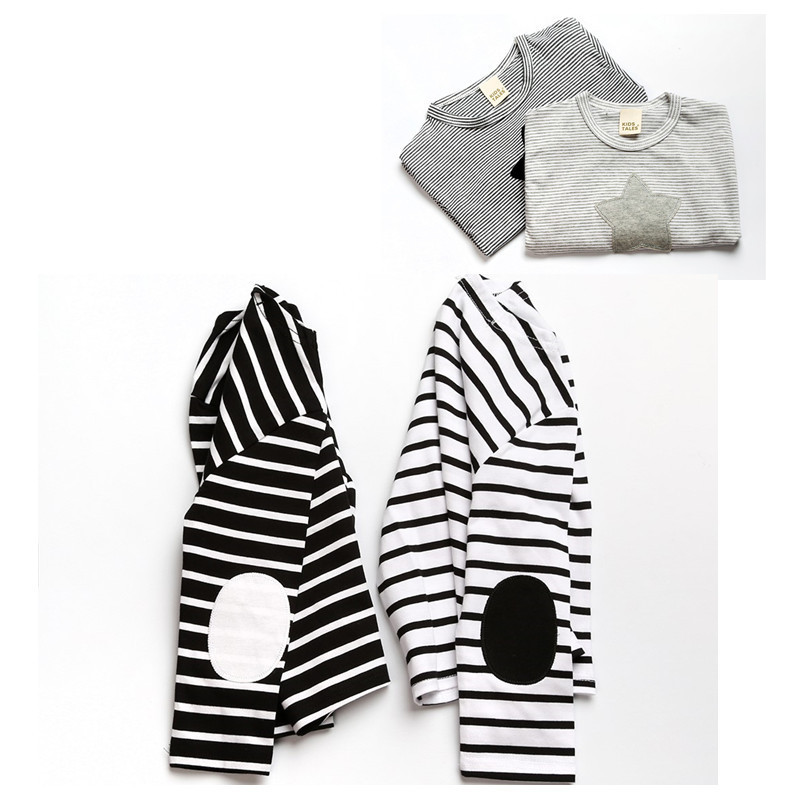 Kids T Shirt Children's Clothing Cotton Comfortable Baby Casual Striped Clothes Long Sleeve T-Shirts For Boys Girls Tops Clothes high quality branded boys t shirts children clothing baby t shirt kids clothes long sleeve striped cotton baby boy t shirt