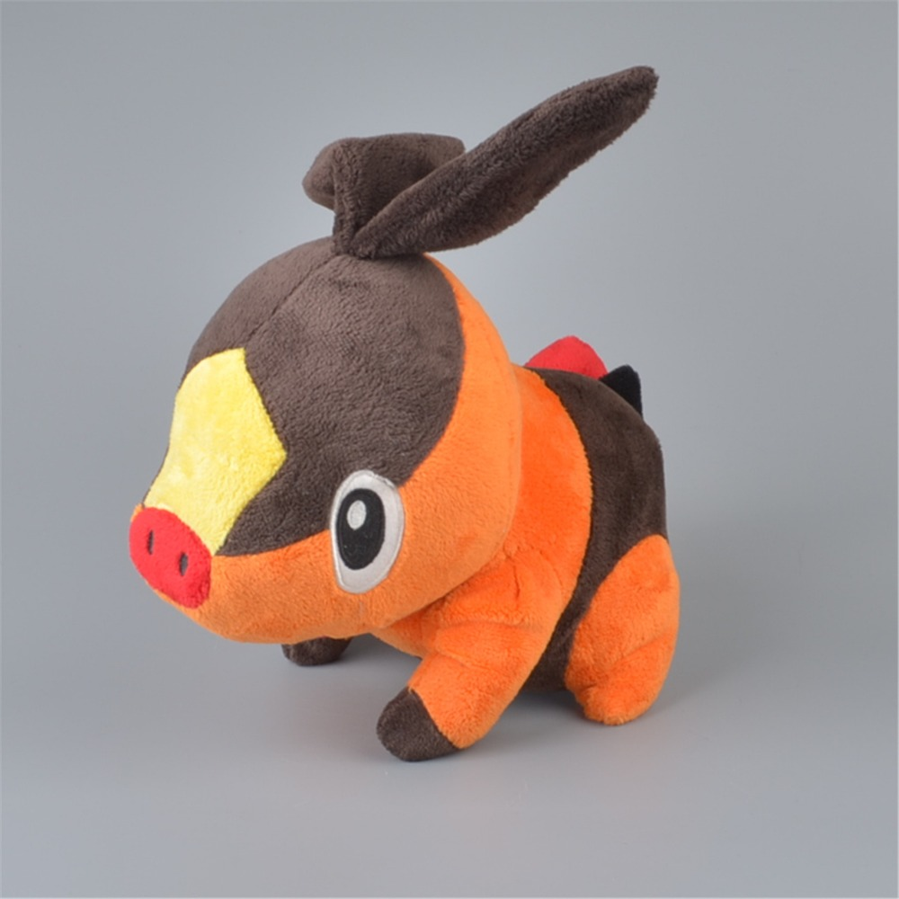 25cm Tepig Stuffed Plush Toy Baby Kids Cartoon Image Gift Doll Free Shipping