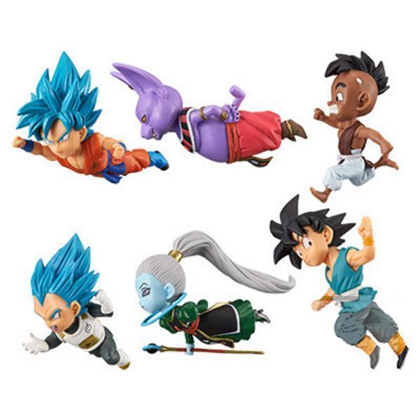 30 компл. Dragon Ball Супер Son Goku shanpa vados Летающий фигурка Игрушечные лошадки Коллекция аниме фигурки для Новогодние товары подарок 40TH