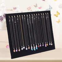 17 crochets bijoux organisateur présentoir collier pendentif chaîne support LXH