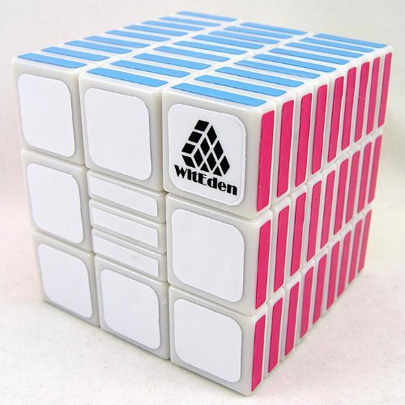 WitEden 3x3x9 Fully Functional Cube White Version II Strengthened Version Classic Toys Magic Cube Speed Puzzle Cubes Kids Toys (3)