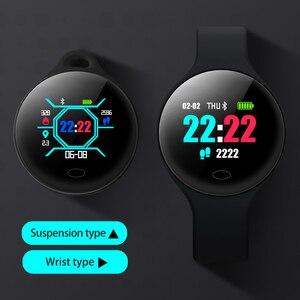 Image 3 - Montre intelligente Sl1 hommes femmes sport Fitness activité Tracker Ip67 étanche Vibration réveil Smartwatch pour Ios Android