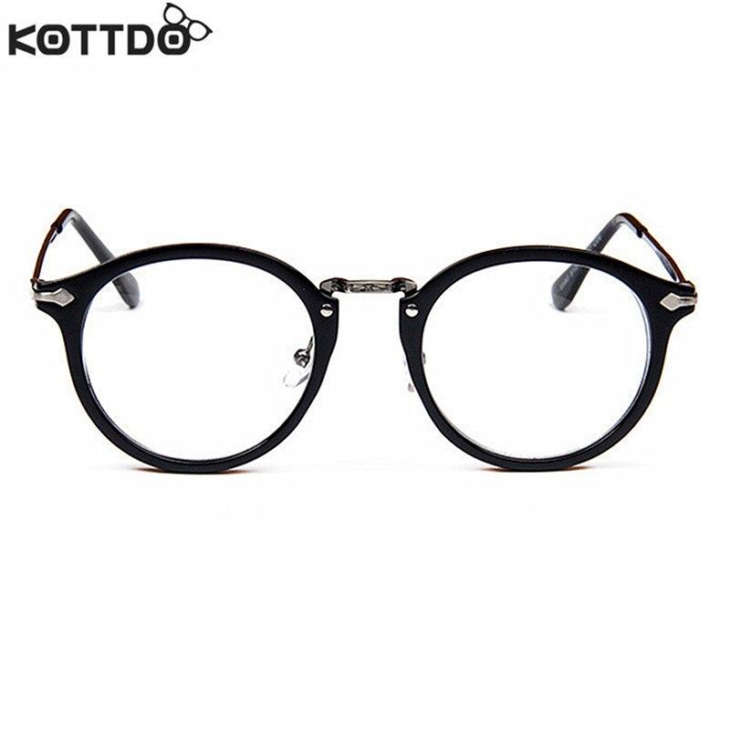 Kottdo 2017 nuevo retro gafas de marco redondo marco de lectura por ...