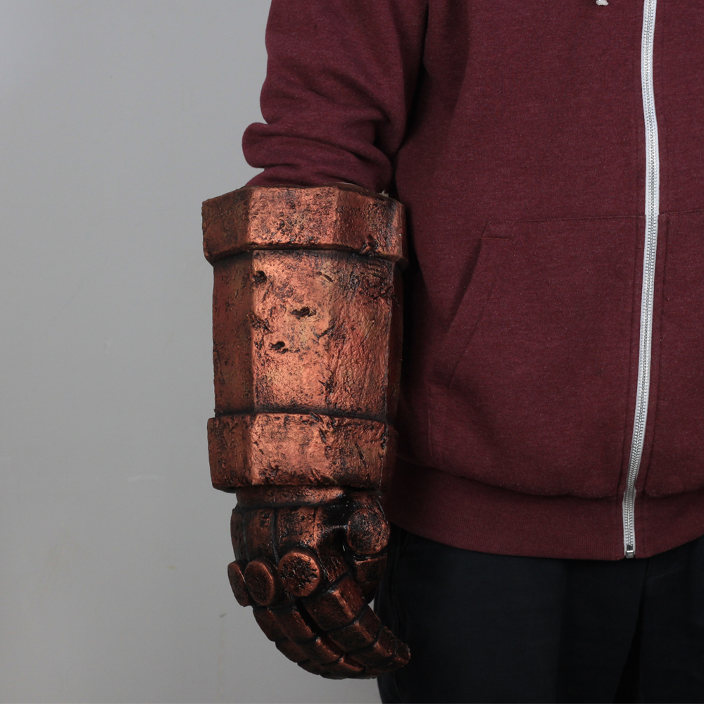 Hellboy Gloves Rise Of the Queen Cosplay Latex Arm Gloves Weapon Halloween Party Props DropShipping