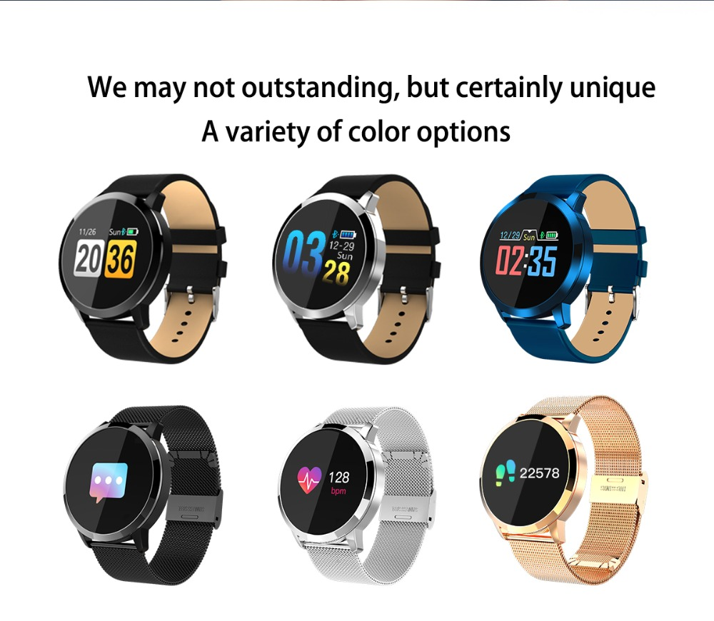 q8-1_18 Q8 Fitness Tracker femme montre intelligente