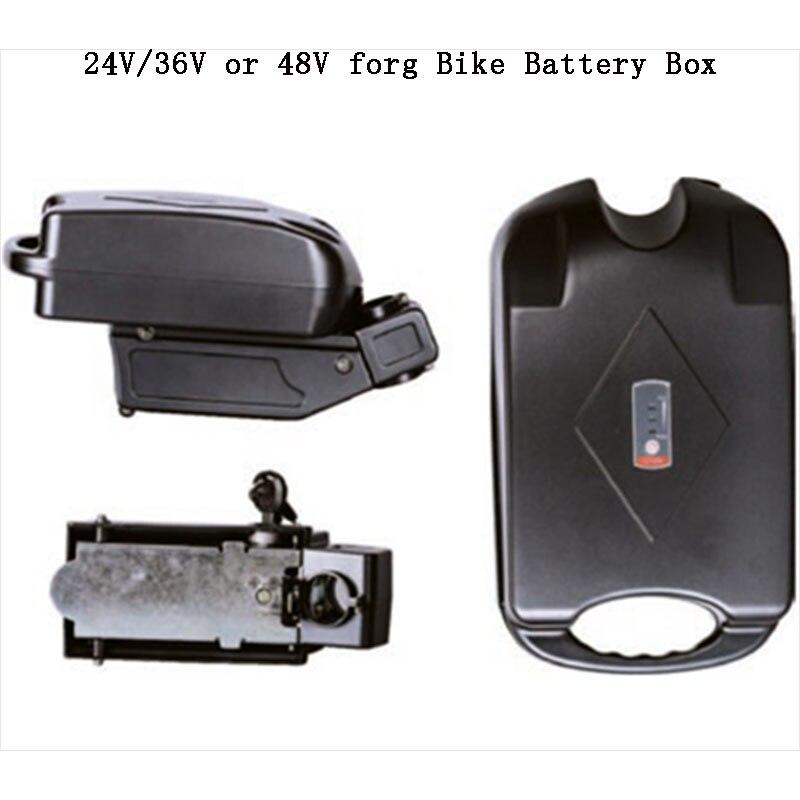 Little frog Battery storage box for 24V 36V and 48V 18650 battery case bike battery storage