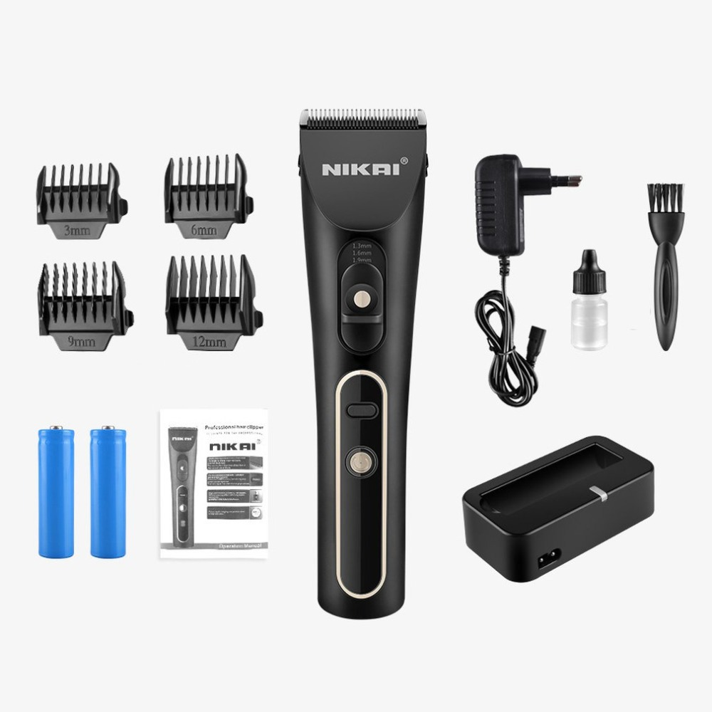 NK Hair Clipper Rechargeable Electric Hair Cutter Professional Portable Hair Trimmer Universal Barber Haircut Tool