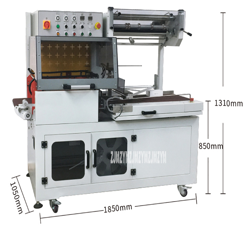 CLF 5545 Film Packaging Sealing Machine Shrink Film Sealing And Cutting Machine Automatic Plastic Packaging Bag Sealing Tool