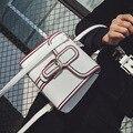 Bolsos Mujer сумки На Ремне Сумки черно-Белые Полосатые Сумки Женщины Известные Бренды ИСКУССТВЕННАЯ Кожа Сумка Сумки для Женщин Лоскут