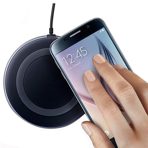 Phone Charger Qi Standard Wireless Charger Power Pad for Samsung Galaxy S6/S6 Edge