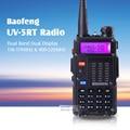 2 шт./лот BAOFENG УФ-5RT рация 5 Вт Dual Band 2 способ радио VHF136-174Mhz & UHF 400-520 МГц рации раций