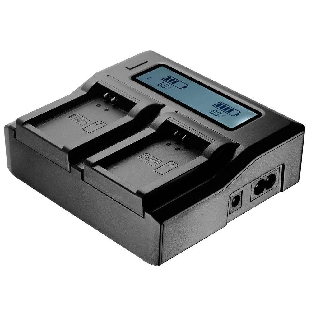 Xberstar rápido cargador de batería dual del cargador del muelle para Sony NP-FZ100ILCE-9 A7RIII a7r3 A9 7RM3 carga Cunas