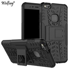 Wolfsay For Case Huawei P10 Lite Nova Cover Phone Cases Plastic Tough Rubber Armor