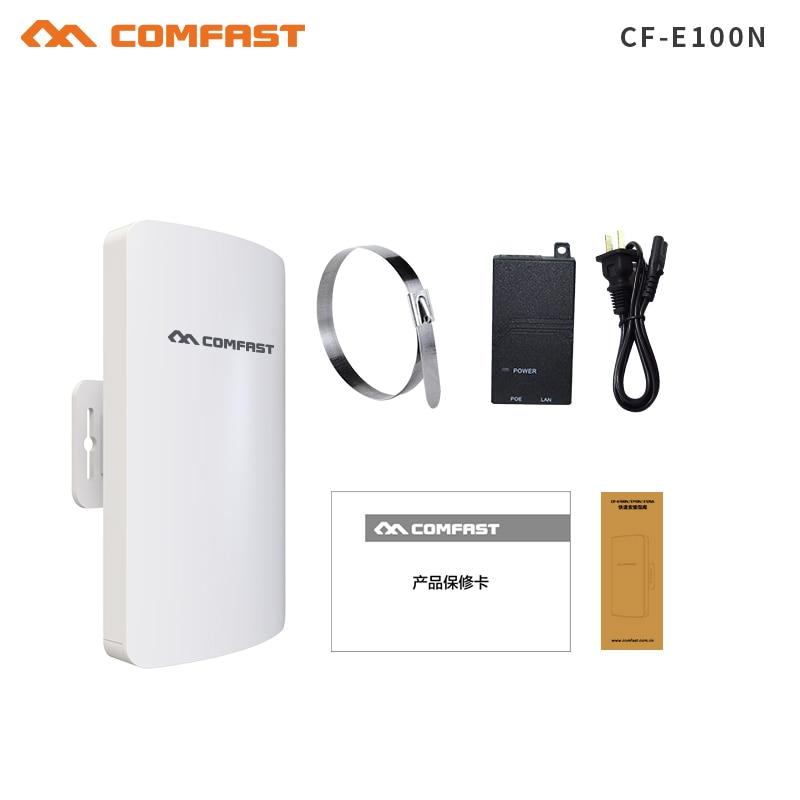цена на Comfast Outdoor Mini CPE WiFi Bridge Wireless WIFI Extender Repeater AP router 300Mbps 11dBi WI-FI Antenna WIFI CPE Nanostation