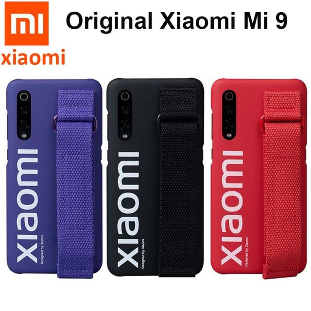 Funda Original Xiaomi mi 9 cubierta trasera global funda protectora de PC esmerilada a prueba de golpes capa mi 9 SE funda/pantalla protector para mascotas