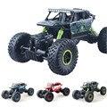 1:18 RC Автомобилей 2.4 Г 4CH 4WD Rock Crawlers Вождения Автомобиля Двойной Моторы Bigfoot Автомобиль Дистанционного Управления Модель Автомобиля Внедорожник Игрушка
