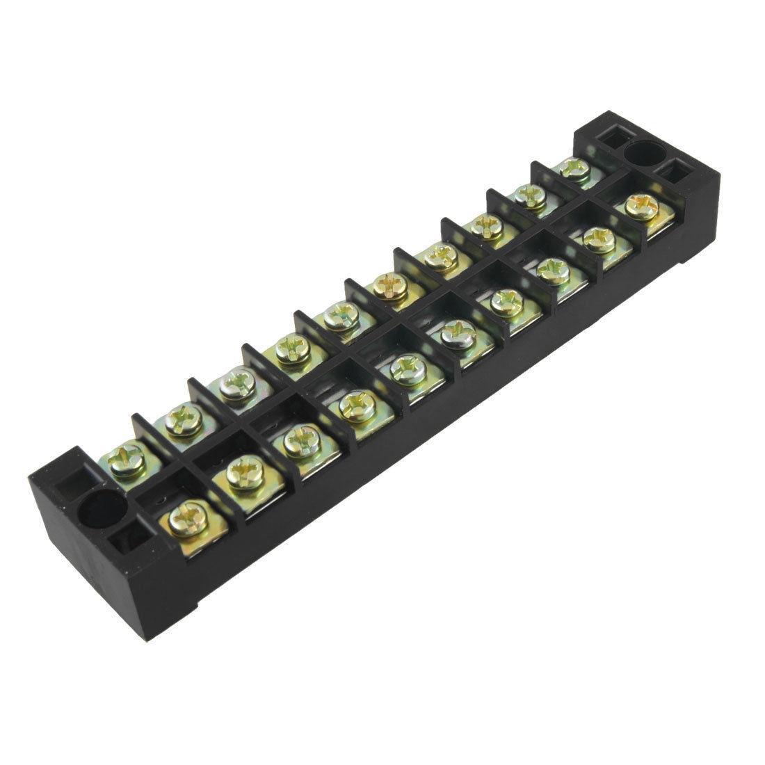 2 Pcs Ganda Row 10 Posisi Screw Terminal Blok Barrier 600 V 15a Tb Karet Kotak 2x2 Meja Kursi Interior Teknik Ranjang Tempat Tidur 1510