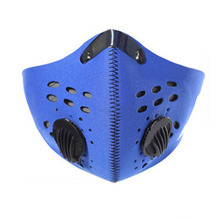 Wind-proof dust-proof fog-proof and haze-proof masks cycling sports mountain bicycle activated carbon