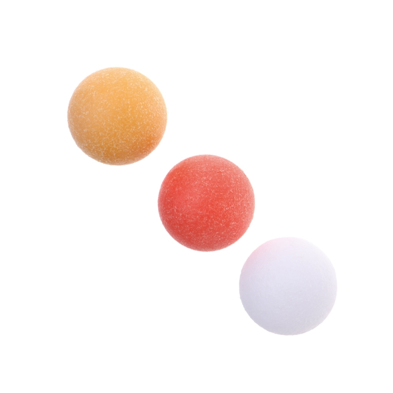 1pc Plastic 36mm Roughened Surface Table Soccer Ball Baby Foot Fussball Foosball
