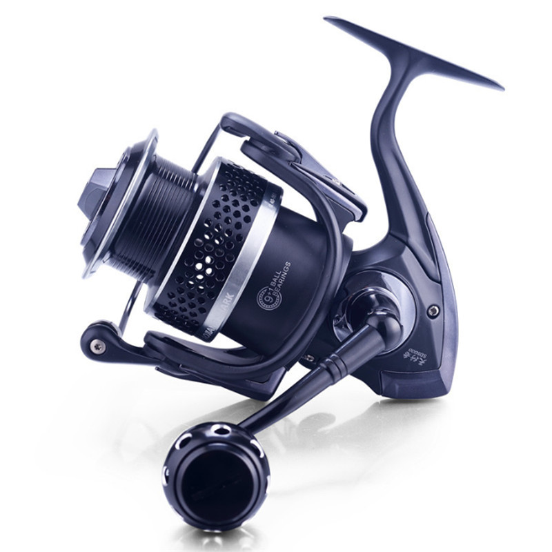 spinning reel Full Metal fishing reel 4.7:1 9+1BB fly fishing reel feeder fishing baitcasting reel SD5000 series moulinet peche anna karenina 1