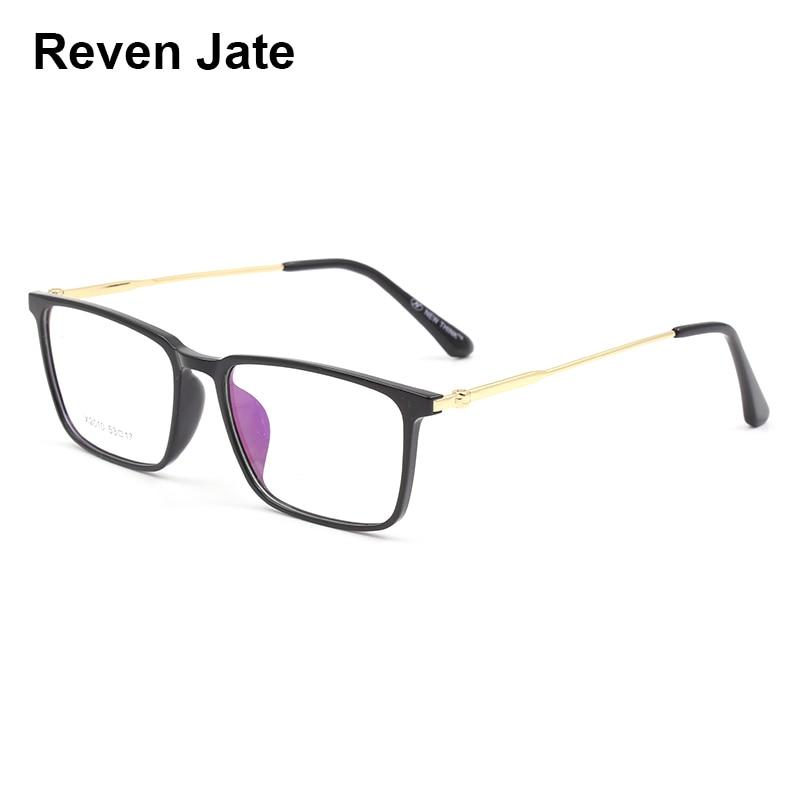 Bekleidung Zubehör Kraftvoll Reven Jate X2010 Optischen Kunststoff Brillen Rahmen Für Männer Und Frauen Rezept Brillen Vollrand Gläser