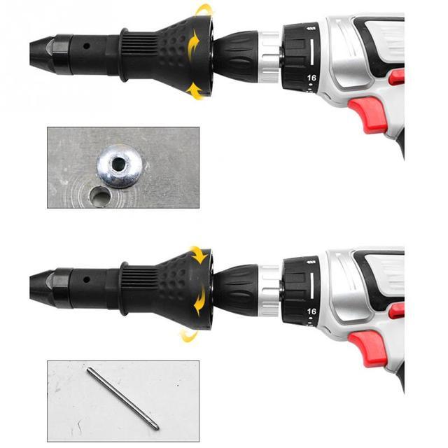 Cordless Rivet Nut Gun Drill Adapter