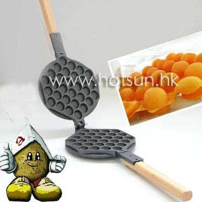 Free Shipping Replacement Eggettes Bubble Egg Waffle Mold Plate Iron вафельница aurora star eggettes 180 a16