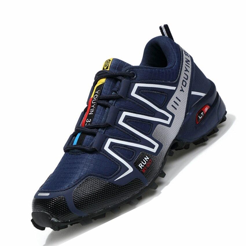 GOGORUNS men hiking shoes outdoor sport camping hiking shoes men hiking sneakers travel shoes men
