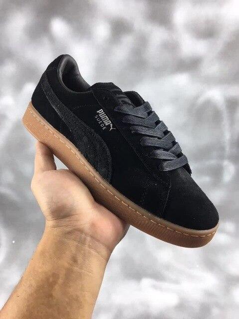 2254b44abb1 2018 Puma chaussures Puma En Daim Classique BBOY Fabuleux 50th Anniversaire  Classique Chaussures taille 36-