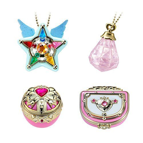Shokugan Miniaturely Tablet Sailor Moon Vol.9 Set of 4 Japan Anime Collectible Mascot Toys 100% Original sailor moon stained crystal light gashapon set of 4 japan anime mascot 100% original