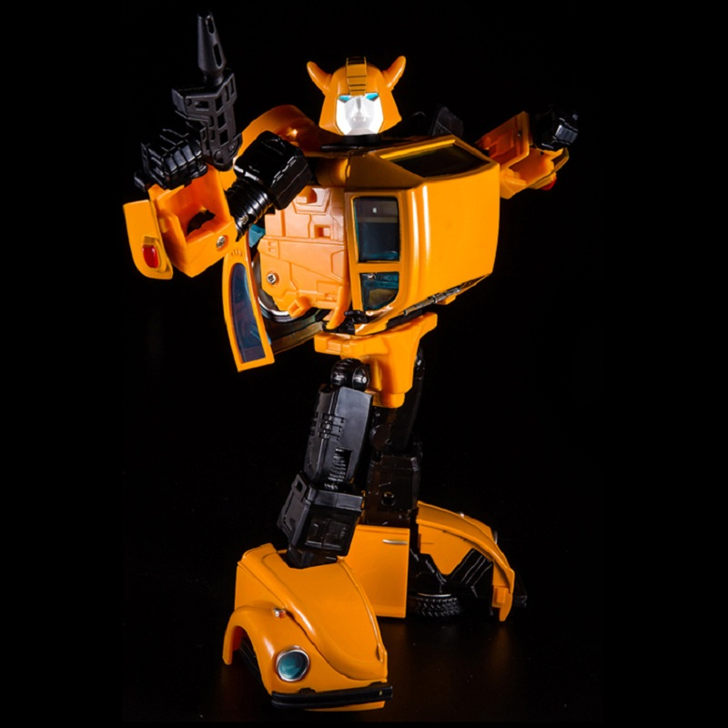 KBB Oversize Transformation G1 MP-21 Bumblebee Metal Robot Action Figure 18cm
