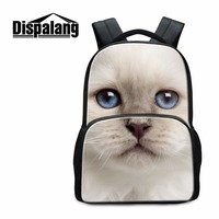 Dispalang High Quality School Bags For College Students White Cat Panda School Backpack Men S Travel