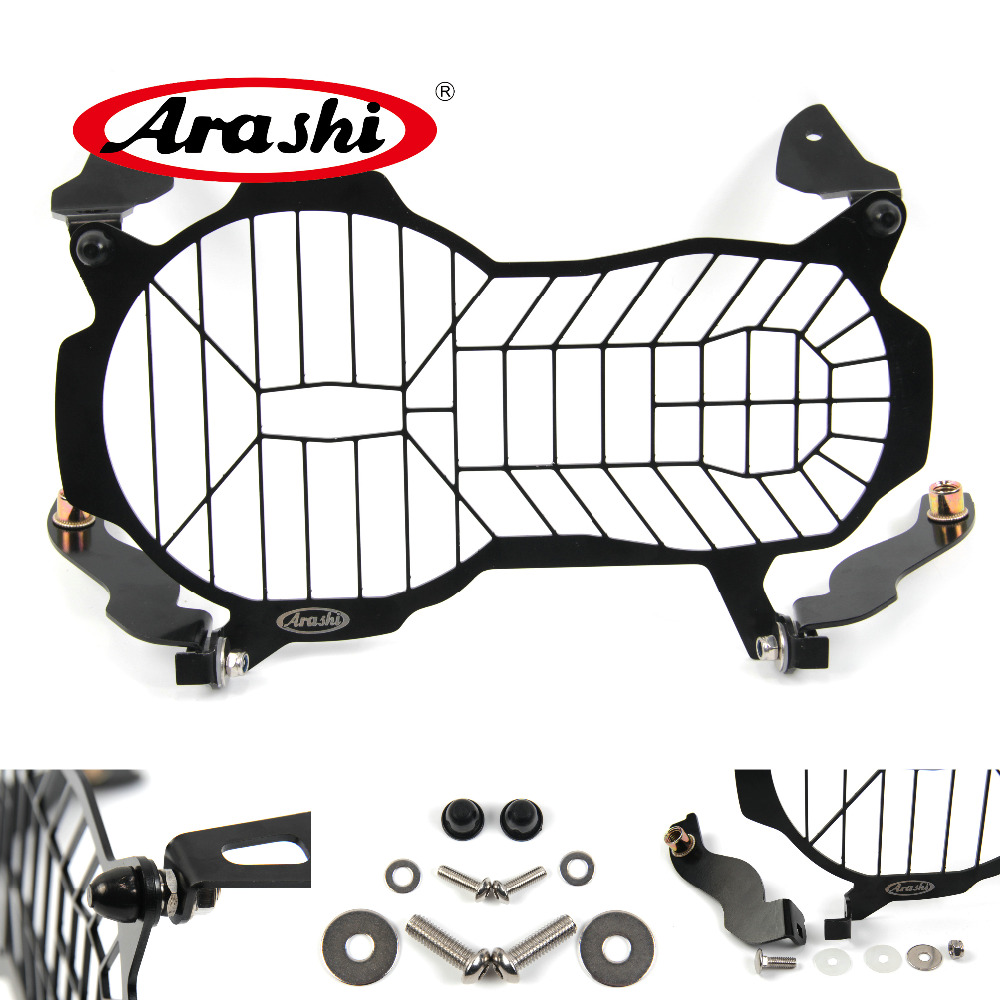 Arashi 100% Brand New R1200GS 2010-2018 Headlight Grille Cover Protector For BMW R1200 GS Motorcyle Headlight Grill Guard
