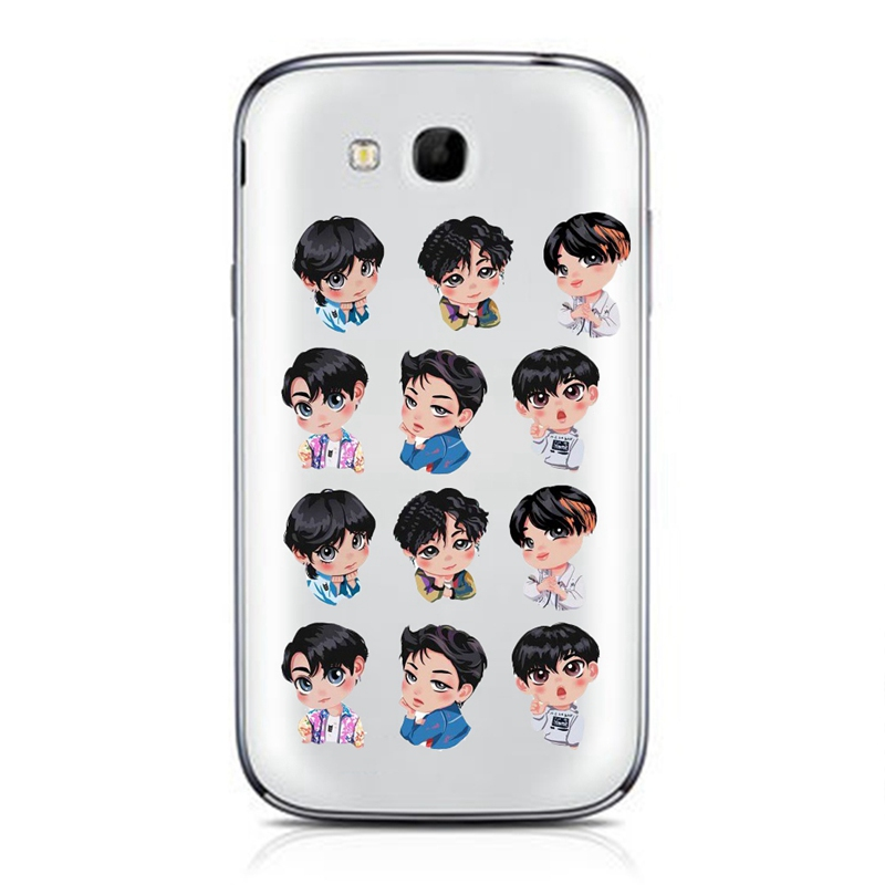 2019 BTS Cute Army Bangtan Boys EXO Album Paper DIY Stickers For Luggage  Cup Notebook Laptop Car Fridge Baby Kids DIY Stickers