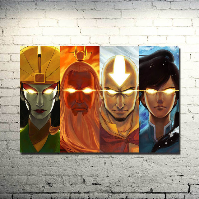 Avatar The Legend Of Korra Hot Anime Comic Art Silk Poster Print 13×20 24×36 inches Home Wall Decoration (click to see more)