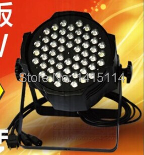LED stage light led 54*3w par light RGBW dmx stage lighting for party space stage 3
