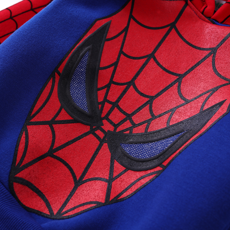 Children Clothing Autumn Winter Toddler Boys Clothes Sets Spiderman Costume Kids Clothes For Boys Clothing Suit 3 4 5 6 7 Year 20