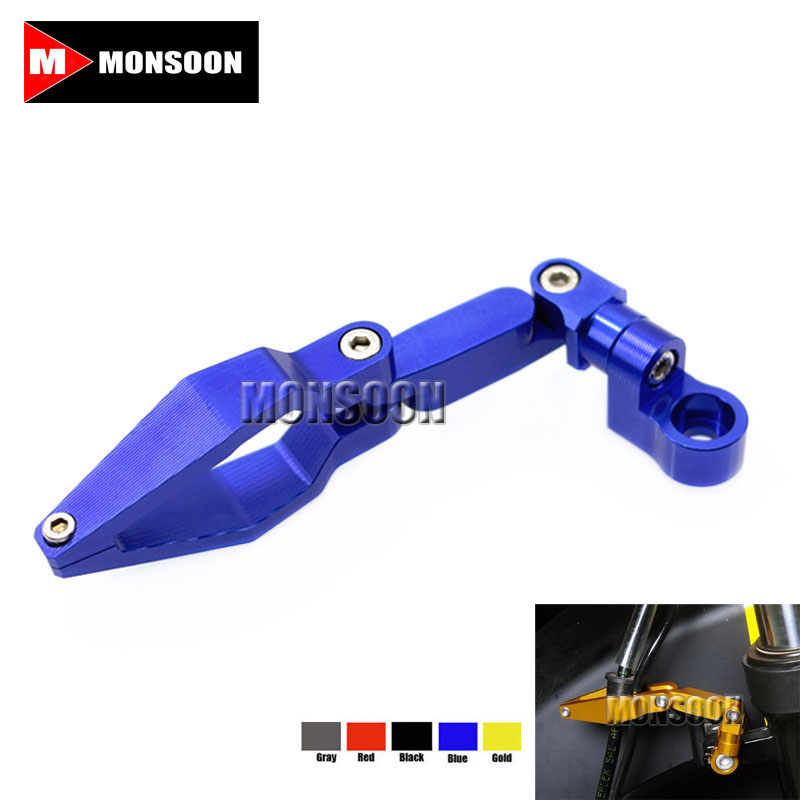 Free Shipping For YAMAHA T-MAX 530 TMAX 500 TMAX530 MT-01 MT-07 MT-09/MT-09 Tracer R1 R6 R125 Motorcycle Brake Line Clamp Blue cnc motorcycle swingarm spools slider stand screws black for yamaha mt 09 mt 07 mt 01 t max 500 t max500 tmax 530 tmax530