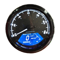 12000RPM Universal Adjustable LCD Backlight Digital Speedometer Odometer Dashboard for Motorcycle Motor Bike For 1,2,4 Cylinders