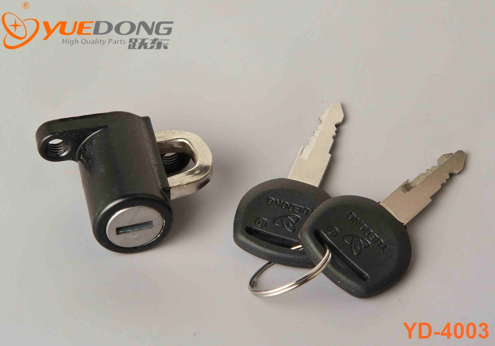 yuedong high quality gn125 motorcycle helmet lock for honda dio parts gn125 motorcycle helmet