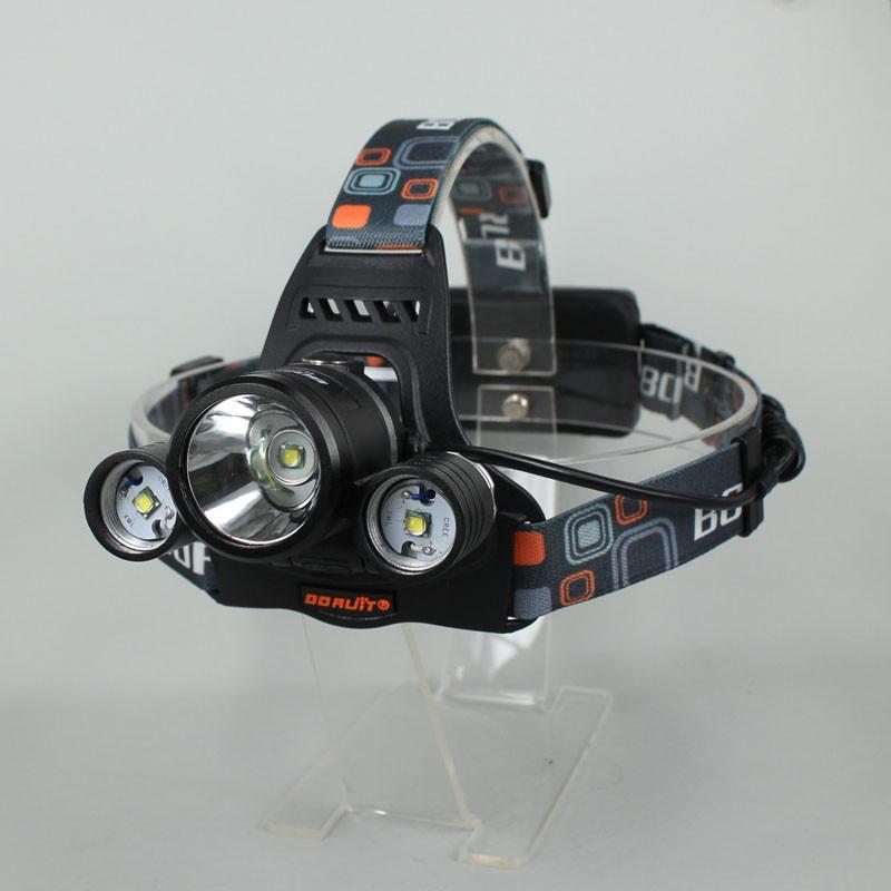3х нью-кри XML-Т6 из светодиодов 5000lm Сид с USB аккумуляторная фары фары велосипеда свет